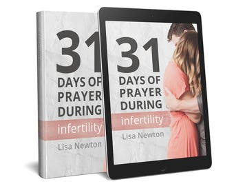 Infertility Prayer PDF eBook {31 Days of Prayer During Infertility}