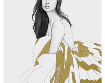 Adriana Limafashion illustration print