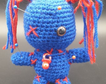 Voodoo Doll Blue