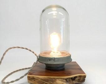 Appleton Explosion Proof Lamp, Nautical Lamp, Vintage Industrial, Industrial Lighting, Cottage Decor, Coastal Lamps, Beach Lamp
