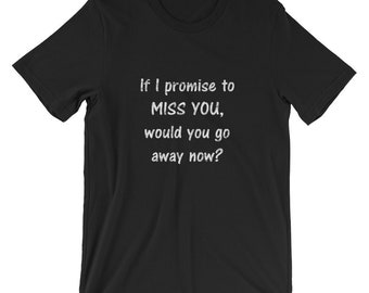 Miss You Short-Sleeve Unisex T-Shirt by Starfire