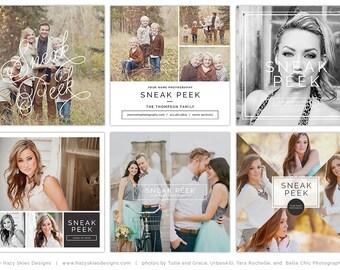 Sneak Peek tableros, plantilla de Blog, Blog Junta, fotografía plantilla de Marketing, Social Media Marketing en redes sociales, Instagram - SPB2026