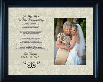 Mom Mother Wedding Gift of the bride Bride Personalized Parent Wedding Gift