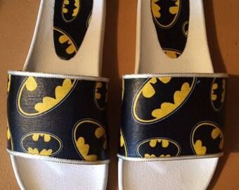 Customized batman sliders new size 8