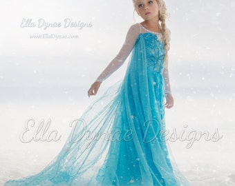 Size 5/6/7 READY_TO_SHIP Elsa Costume