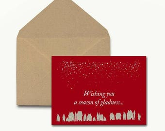 Season Of Gladness Holiday Cards