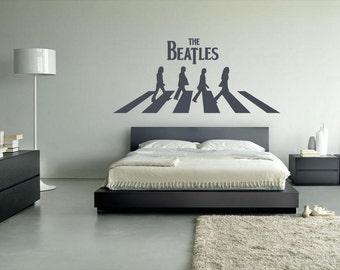 More colors & Beatles wall decal | Etsy
