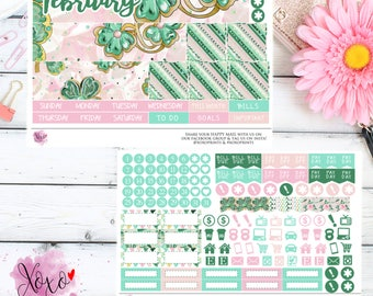 St Patricks Monthly Kit for your TN B6 Annie Plans Inserts