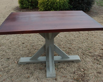 Dining kitchen breakfast table in square round or rectangle top