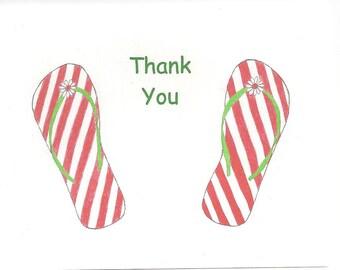 Flip Flops Thank You