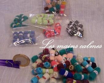 Wool balls Miniature 10eme and 12eme