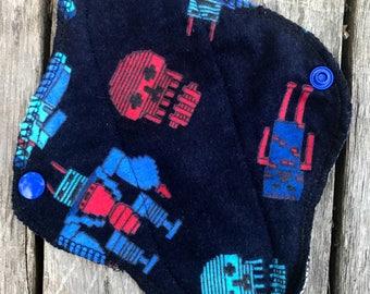 Flannel Pad-Pantyliner-Moon cycle-teen pad-mama cloth-Minecraft