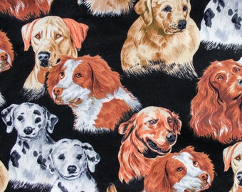Must Love Dogs fabric by S. Shamash and Sons 2002