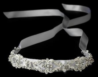 Rhinestone Bridal Headpiece | Crystal Hair Tiara | Bridal Headband | Wedding Headband | Wedding Hair Tiara | Prom Headband