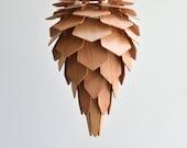 pogo M  | wooden lamp | pinecone