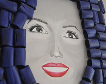 Wall decoration-The Indestructible woman