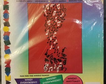 Stik-ees 1994 808 Simply Music decal, Great for Kids, schools, and music lovers