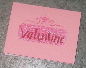 Be My Valentine Layered Card