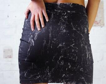 Rocker skirt - Mini Tube skirt, Mini skirt, Black Mini, Tube skirt, Summer skirt.