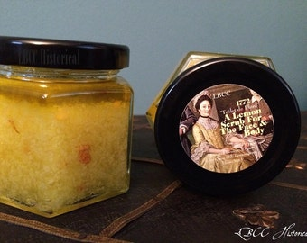 18th Century Historical Recipe- Lemon Scrub 1772 Great for all skin types
