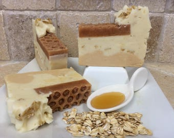 Oats & Honey — Handmade 99% all natural vegan soap