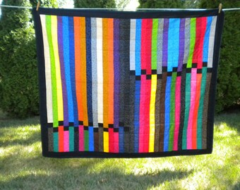 Quilt -Stepping Up the Rainbow Quilt - #LQ-010