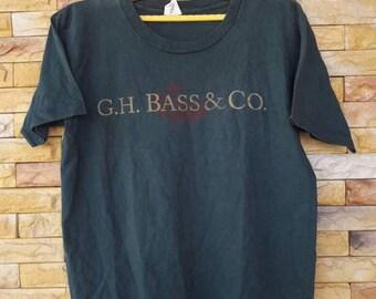 Vintage g.h bass& co large size shirt
