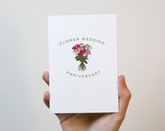 Paper wedding anniversary card year wedding anniversary