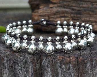 Jingling Silver Bell Anklet