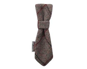 Harris Tweed 'Bentley' Dog Tie To Fit Any Collar