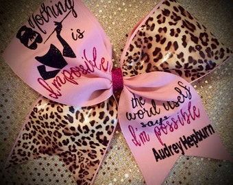 LEOPARD Quote Bow