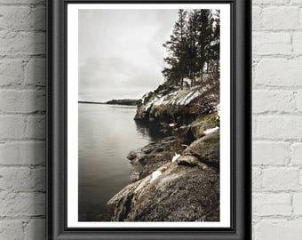 Cliffhanger Print