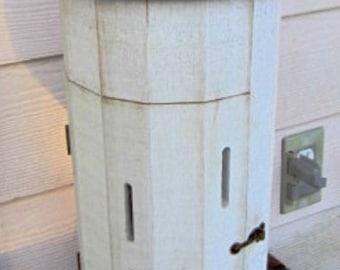 Vintage Holz handgefertigt Schmetterling Scheune/Versteck/Haus