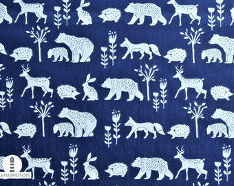 Fabric Organic cotton Monaluna Simple Life