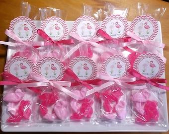 Flamingo Party Favors - Flamingo Party, Flamingo Birthday Party, Flamingo Wedding Favors, Florida Party, Pink Flamingo Soap - Set of 15