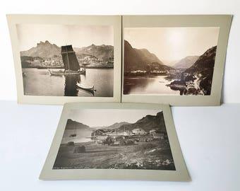 Antique Photos Norway Photos Old photo Boat photos fishing photos