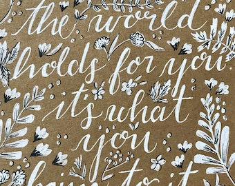 Anne Shirley Quote 5x7 Print