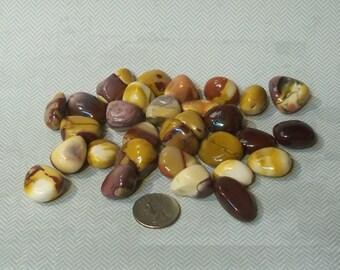 Natural Mookaite or Mook Jasper Tumbled Chunks Large