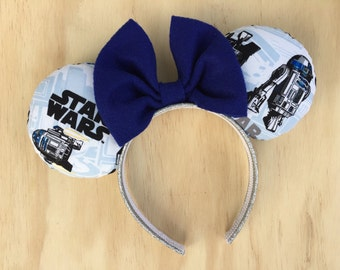 Star Wars R2-D2 Minnie Mouse Ears