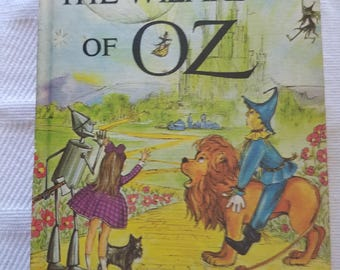 The Wizard of Oz and The Jungle Book upside down book