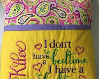 Bedtime Reading Pillow