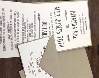 Rustic wedding invitation, Rustic cranberry wedding invitations, Kraft wedding invitations, rustic weddings, wine wedding invitation,