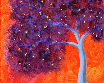 Violet Foliage