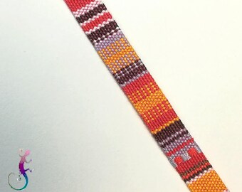 Peruvian aguayo fabric tape sold by the yard