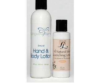 Emu Oil Lotion Pack