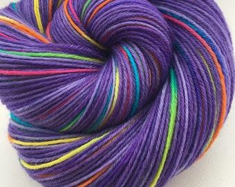 Rainbow 4 ply yarn