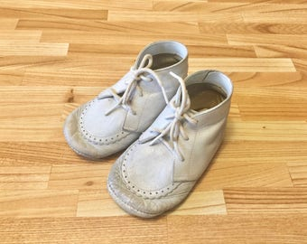 Vintage Baby Shoes Childrens Crib shoes