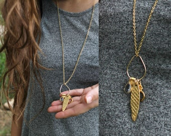 Long Necklace Long Necklaces for Women Long Necklace with Pendant Gold Long Boho Necklace Long Gold Necklace Long Pendant Necklace