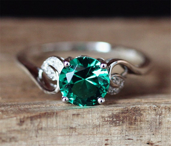 order engagement to free box ring man made princess diamonds ct stones cut media promise emerald channel set with