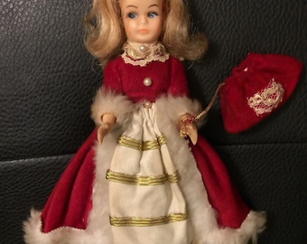 50s Little Christmas Doll